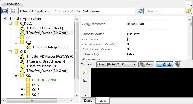 Open CASCADE Technology: Inspector